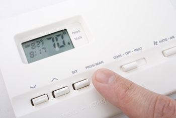 Thermostat for our heating and air conditioning systems in Gonzales, LA